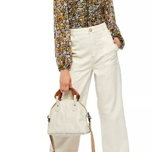 Free people capri pants